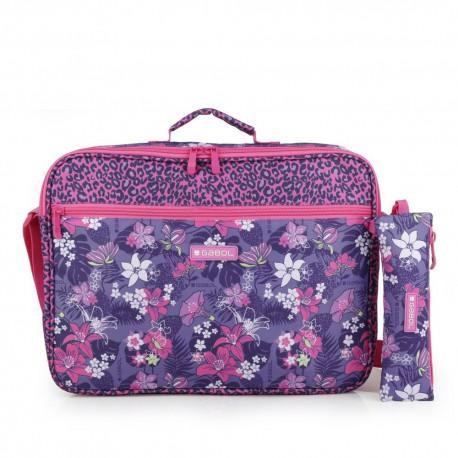 ست کیف دوشی و جامدادی تک زیپ Jasmine