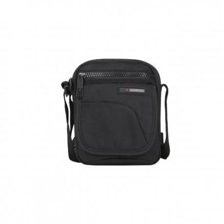کیف دوشی مردانه Crony سایز 6×17×13 - مشکی