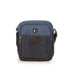 کیف دوشی مردانه Detroit سایز 8×24×20 - مشکی