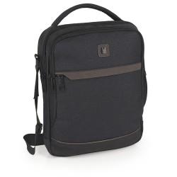 کیف دوشی مردانه Lucca سایز 8×31×25 - طوسی