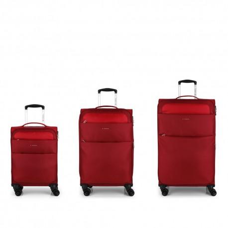 ست سه تایی چمدان نرم Cloud