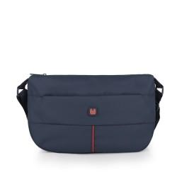 کیف دوشی زنانه Calais سایز 25x20x9 - سرمه ای