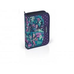 جامدادی تک زیپ کتابی تاشو Fancy سایز 5×22×15